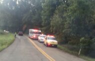 Vehicle Overturns On McCalmont Rd. Thursday Morning