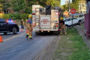 Route 38 Crash Injures One