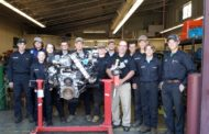 Butler County Ford Donates Engines To Vo-Tech