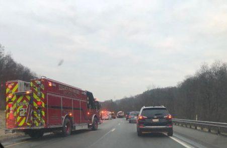 I-79 Crash Slows Down Traffic