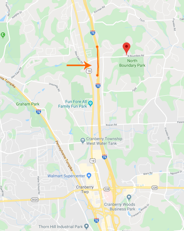 I-79 SB Lane Restrictions In Cranberry Twp. Pushed Back To Next Week