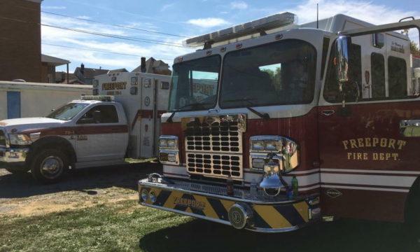 Monday Night Fire Damages Freeport Residence