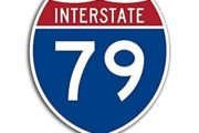 Motorists Warned of Monday's Partial Closer of Interstate 79