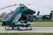 Helicopter Called To Transport Man Injured In Motorcycle Crash