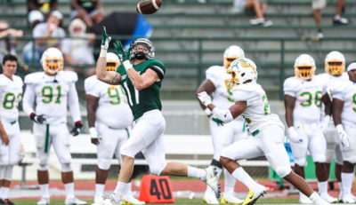 SRU football team up to #9 this week