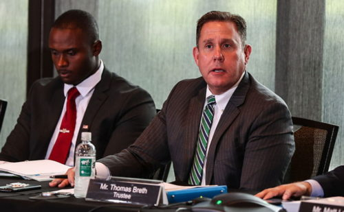 SRU Council Of Trustees Meeting Thursday, Friday
